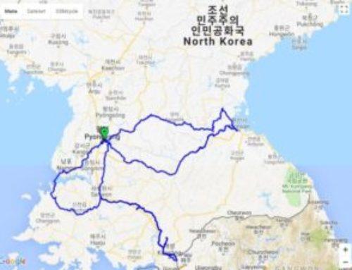Severna Koreja biciklom